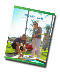 Download our mini golf broshure