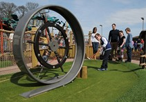 Large loop adventure golf obstacle from City Golf Europe