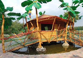 Jungle house at Südsee Adventure Golf