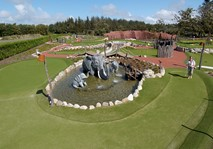 Jambo Adventure Golf built by City Golf Europe