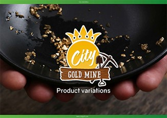 City Gold Mine product variations