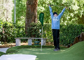 Hole in one at Sundbyberg's MOS-adventure golf
