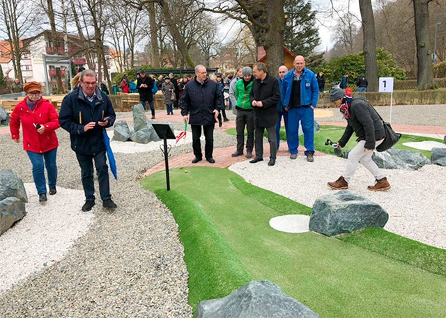 Opening of the Adventure Golf at Bad Harzburg