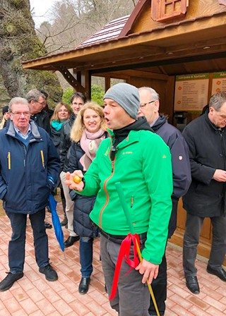 Opening speach at Adventure Golf Harz