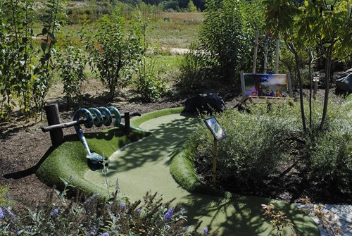 Adventure Golf Snake Legoland