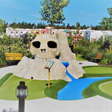 Legoland Adventure Golf Scull